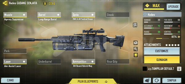 Long Range Firepower