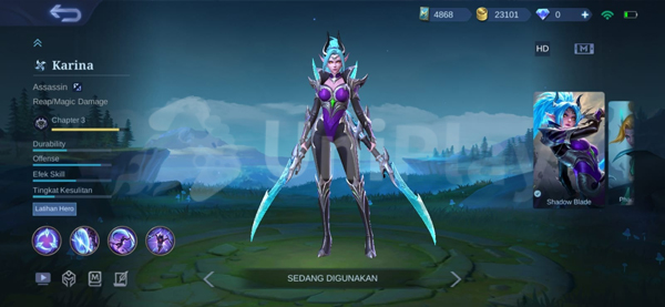 Karina Mobile Legends